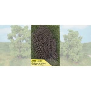 Heki 1532 Set 15 alberi realistici da costruire H0-TT