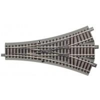 Roco 61160 Scambio triplo serie Geoline l.200 mm 22.5°
