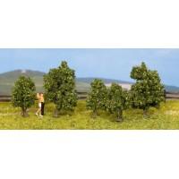 Noch 25410 Cespugli verdi h 3-4 cm (5 pezzi) H0-TT