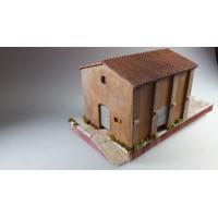 Adt Costruzioni 006 Magazzino merci con piano di carico H0 1:87