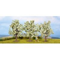 Noch 25111 Alberi da frutto in fiore 3 pezzi H0-TT