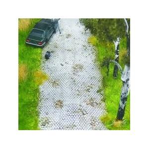 Juweela 28163 Pavimento flessibile grigio 1:87