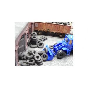 Juweela 28171 Vecchi pneumatici camion 60gr 1:87