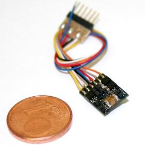 Esu 54684 Decoder Dcc Lok Pilot 6 poli micro con fili