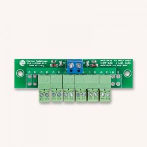 Almrose 4-20200 Distributore di corrente 1 ingresso-6 uscite