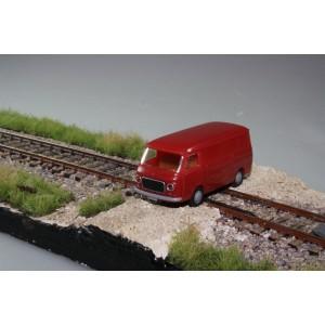 Brekina Fiat 238 furgonato rosso