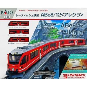 Kato 10-025 Start set treno RhB Ferrovia Retica