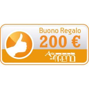 Buono regalo € 200,00