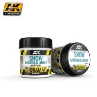 AK8010 Snow microballs diorama series (100ml)