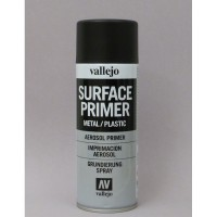 Vallejo 28012 Primer spray black-nero (400ml)