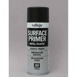 Vallejo 28012 Primer spray black-nero (400ml)