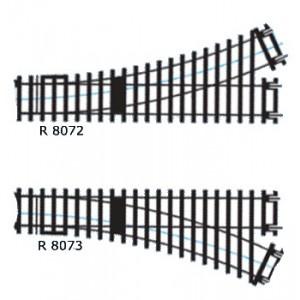Hornby R8073 Scambio destro H0 codice 100