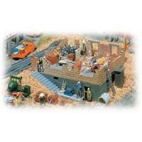 Faller 130307 Casa in costruzione con cantiere 1:87 H0