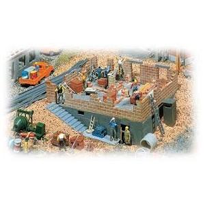 Faller 130307 Casa in costruzione con cantiere