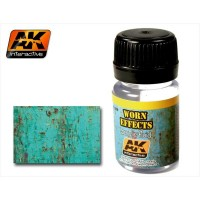 AK088 Worn effect acrylic fluid 35ml