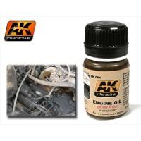 AK084 Acrilico effetto olio motore 35ml