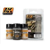 AK260 Set invecchiamento del legno (35ml x 3pz)