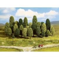 Noch 26801 Alberi verdi 5-9 cm 25 pezzi