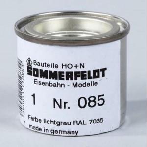 Sommerfeldt 085 Vernice alluminio RAL 7035 per pali catenaria