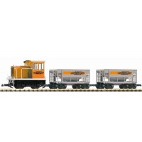 Piko 37150 Start set iniziale con loco diesel+2 carri (scala G)