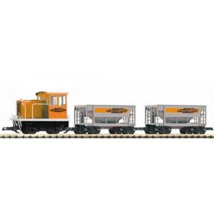 Piko 37150 Start set iniziale con loco diesel+2 carri (scala G)