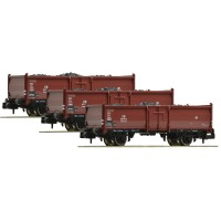Fleischmann 820530 Set 3 carri carbone DB scala N 1:160