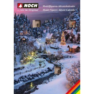 Noch 45991 Calendario dell'Avvento 2018 (scala TT)