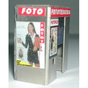Simplon Model 391K Cabina per fototessere (kit 1:87)