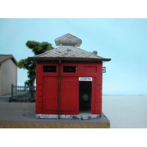 Simplon Model 138K Gabinetto stazione Fs (1:87-kit)