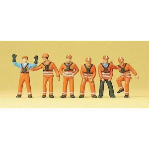 Preiser 10245 Operai specializzati di manutenzione 1:87