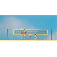 Preiser 10528 Giocatrici di beach volley 1:87
