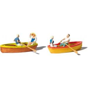 Preiser 10686 Barche a remi 1:87