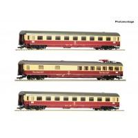 """Roco 74122 Set treno TEE 26/27 """"Erasmus"""" delle DB"""