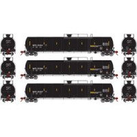 Athearn ATH15004 Set tre carri cisterna GATC23K