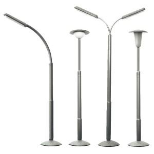 Faller 272453 Lampioni di 4 tipi (scala N)