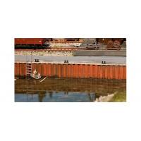 Faller 131012 Argini corso d'acqua o mare (kit 1:87)