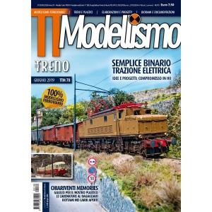 Duegi Editrice Tutto Treno Modellismo n°78 Giugno 2019