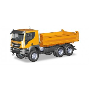Herpa 309998 Iveco Trakker 6x6 ribalta arancio (1:87)