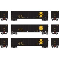 "Athearn 16476 Santa Fe 50"" Thrall High-Side Coal Gondola 1:87 H0"