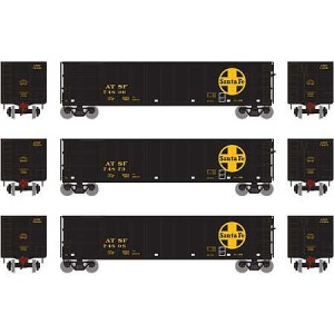 "Athearn 16476 Santa Fe 50"" Thrall High-Side Coal Gondola"