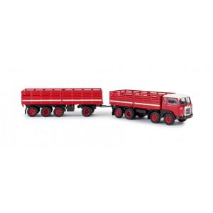Brekina 58407 Fiat 690 Millepiedi 1:87 - H0 rosso