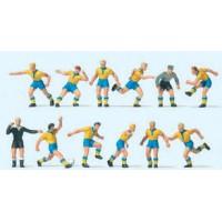 Preiser 10755 Squadra di calcio gialloblu