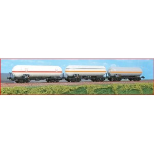 Acme 45094 Set tre carri cisterna trasporto chimico