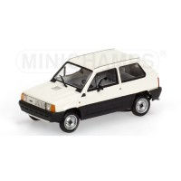 Fiat Panda bianca 1980