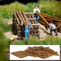 Busch 1129 Traverse in legno 100 pezzi