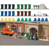 Busch 1136 Set cestini dei rifiuti H0-1:87