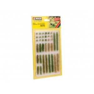 Noch 07125 Ciuffi d'erba verde chiaro/scuro 36 pezzi