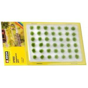 Noch 07032 Ciuffi erba verde 42 pezzi h 6 mm