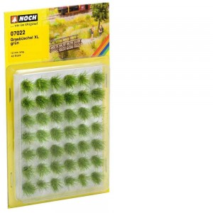 Noch 07022 Ciuffi d'erba XL 42 pezzi 12 mm