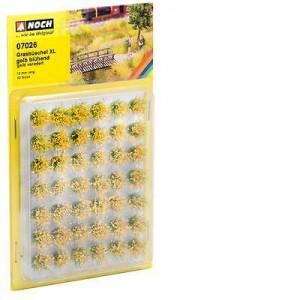 Noch 07026 Cespugli in fiore gialli 42 pezzi h 12 mm